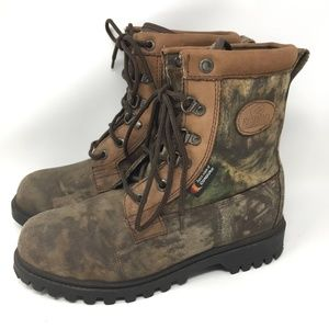 RedHead Camo Hunting Boots Thinsulate 8.5 Wide